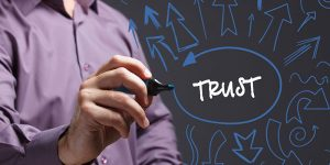 The causal loop between information disorder and trust on the Internet
